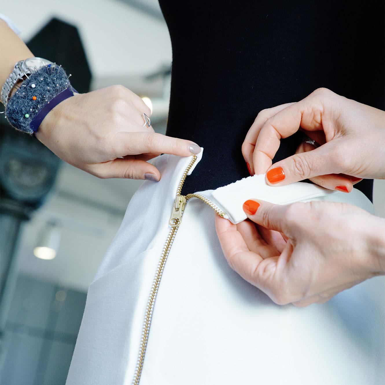 Qualitätskontrolle textile Produktion